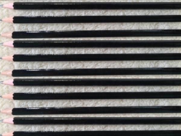 Bút chì lục giác 3678-2B đen